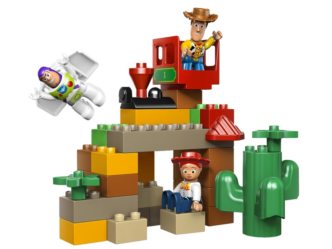 Lego Toy Story : Lego duplo toy story the great train chase home